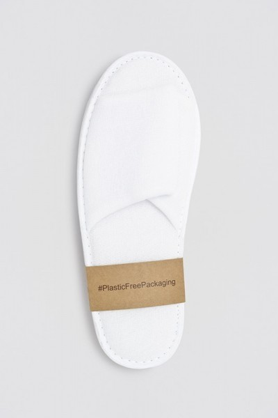 Berlin Polyester offen weiß Größe 28,5 cm plastik frei verpackt
