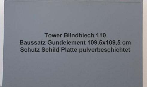 Tower Blindblech 50 (Beispielbild)
