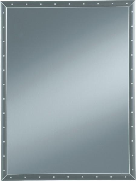 Spiegel mit Rahmen und Nieten 60/80