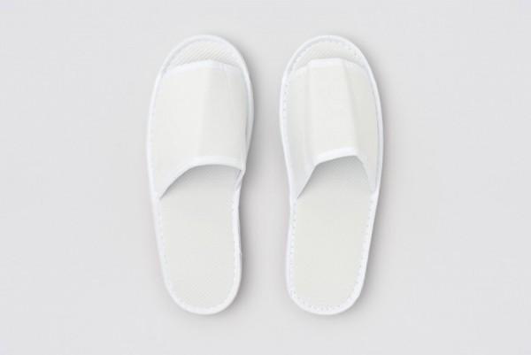 Ibiza Slipper weiß Größe 28,5 cm