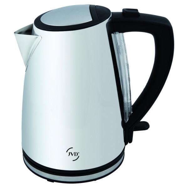 Wasserkocher Zenith Edelstahl glänzend 1 L