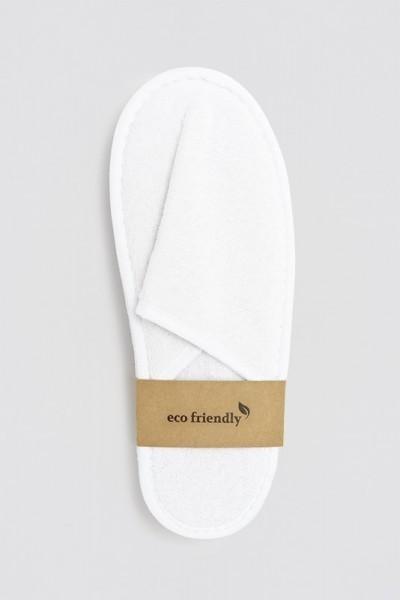 Nature Comfort-Slipper geschlossen weiß 28,5 cm Banderole