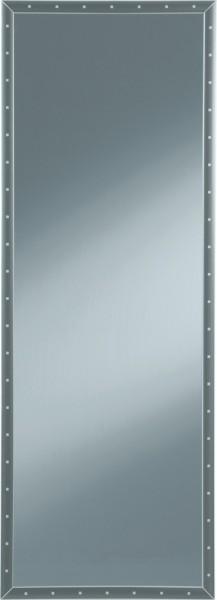 Spiegel mit Rahmen und Nieten 50 140