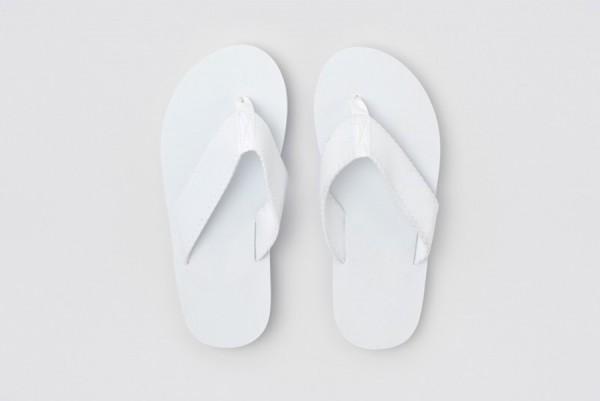 Pool Flip-Flop weiß Größe 29,5 cm
