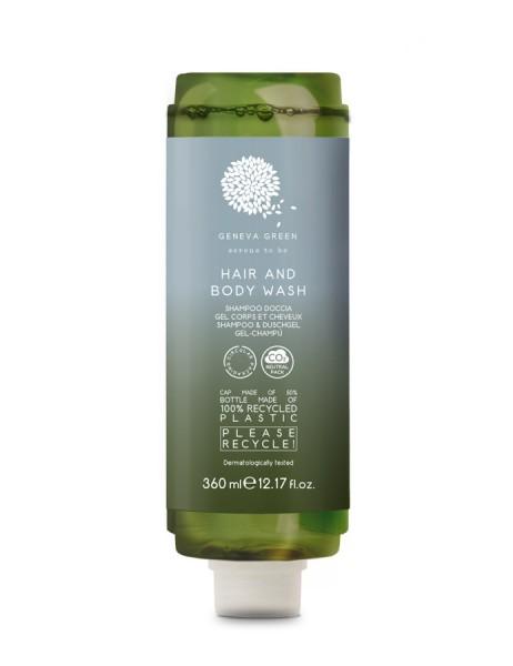 GENEVA GREEN HAIR&BODY 360 ml SPENDER