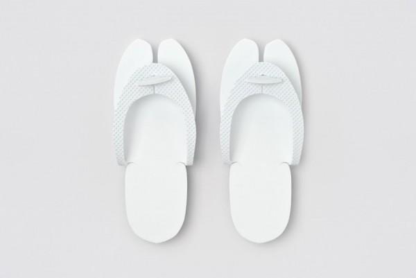 Hammam Flip-Flop weiß Größe 28,2cm